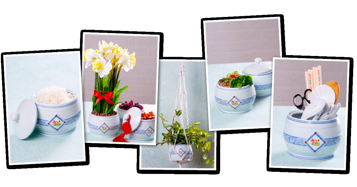 Voorbeelden hoe de pot gebruikt kan worden